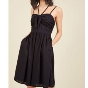 ModCloth Guests Welcome Convertible A-Line Dress